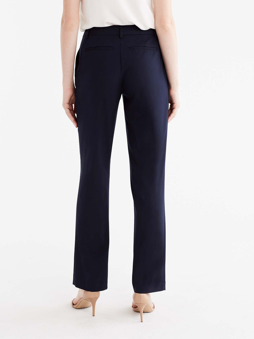 The Jones New York Washable Sydney Pant in color Navy - Image Position 6