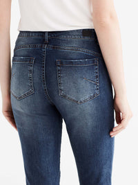 Madison Slim Leg Jeans Color Blue
