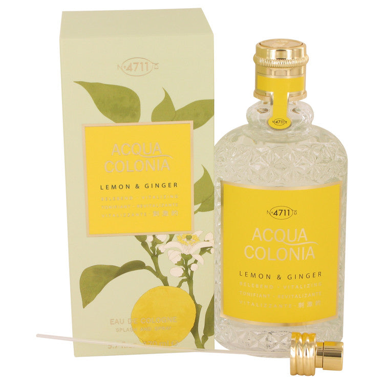 4711 Acqua Colonia Lemon & Ginger Eau De Cologne Spray (Unisex) By Maurer & Wirtz