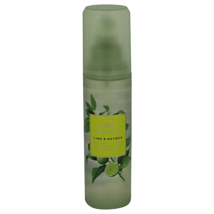 4711 Acqua Colonia Lime & Nutmeg Body Spray By Maurer & Wirtz