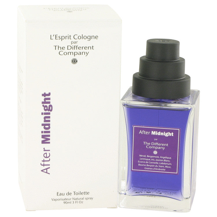 After Midnight Eau De Toilette Spray (Unisex) By The Different Company