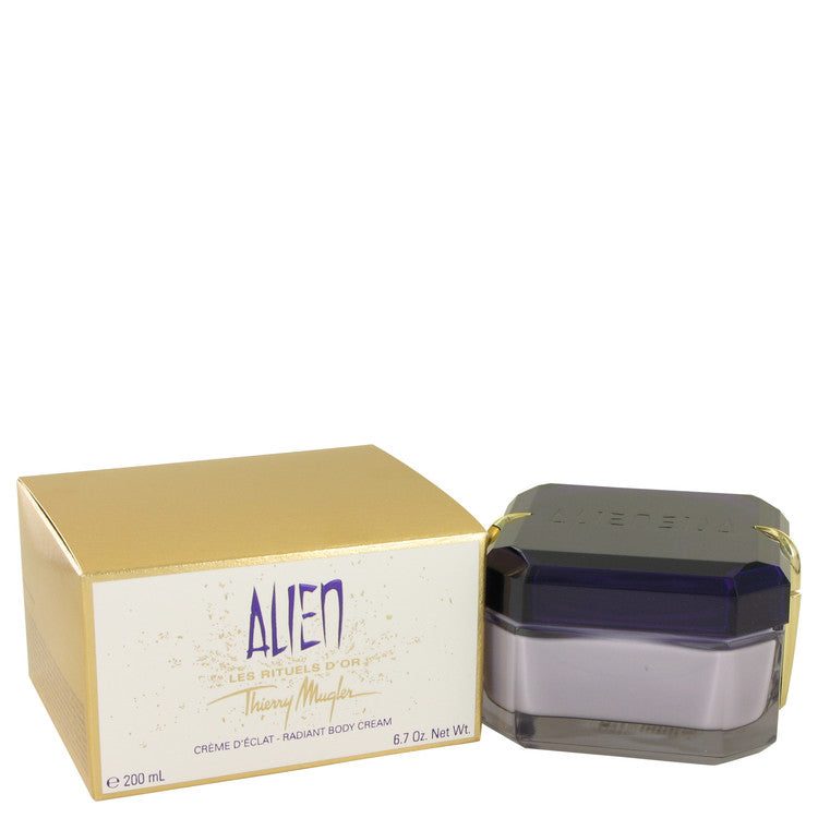 Alien Declat Radiant Body Crème By Thierry Mugler