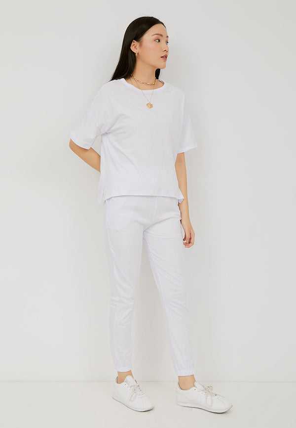 ORITAMI Basic Tee - White