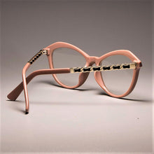 Load image into Gallery viewer, Sexy Cat Eye Ladies Khaki Square Glasses - Fresh Deals Shop