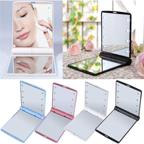 LED Mini Mirror - Fresh Deals Shop
