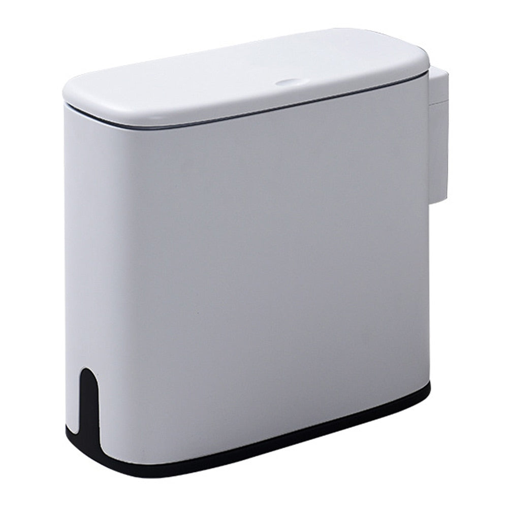 Plastic Narrow Type Trash Can
