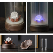 Load image into Gallery viewer, Buddha Backflow Incense Burner