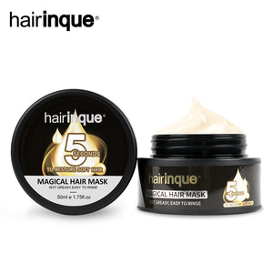 HAIRINQUE 50ml Magical treatment hair mask moisturizing nourishing 5seconds Repair hair damage restore soft hair care mask