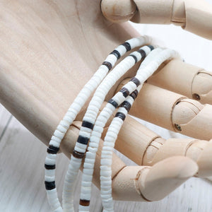 2020 White Bohemian Surfer Necklace Men Natural Shell Choker Necklace Women Tribal Jewelry Best Friend Gifts For Him SU-15
