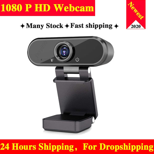 Webcam 1080P HD web camera Built-in Microphone Rotatable Cameras for Live Broadcast Video Calling Conference Work camara web cam
