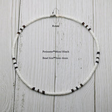 Load image into Gallery viewer, 2020 White Bohemian Surfer Necklace Men Natural Shell Choker Necklace Women Tribal Jewelry Best Friend Gifts For Him SU-15