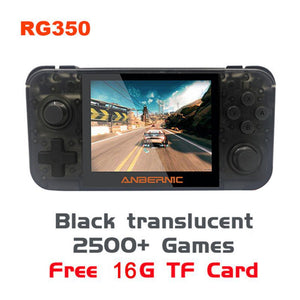 Portable Durable Handheld Game Console RG350 Retro Game Console Free With 32G TF Card IPS Screen Video Game Console Accessories