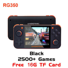 Load image into Gallery viewer, Portable Durable Handheld Game Console RG350 Retro Game Console Free With 32G TF Card IPS Screen Video Game Console Accessories