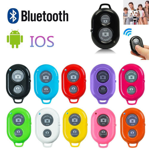 Wireless Bluetooth Smart Phone Camera Remote Control Shutter For Selfie Stick Monopod compatible Android IOS iPhone X iPhone 8