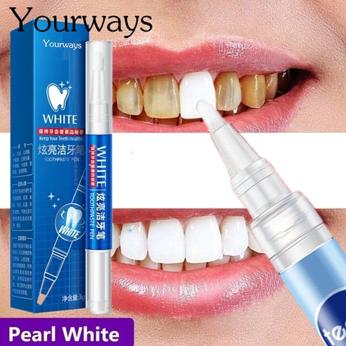 Magic Natural Teeth Whitening Gel Pen Oral Care Remove Stains Tooth Cleaning Teeth Whitener Tools
