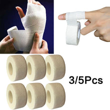 Load image into Gallery viewer, 1/3/5 PCS Medical Bandage First Aid Adhesive Bandage for Hand Leg Band Adhesive Stretch Band Wrist Sports Protective Bandage