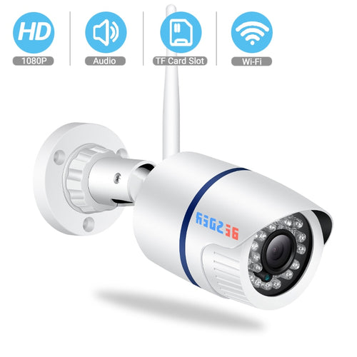 BESDER iCsee ONVIF Audio IP Camera 1080P 720P Wireless Wired P2P Alarm CCTV Bullet Outdoor Wifi Camera With SD Card Slot Max 64G