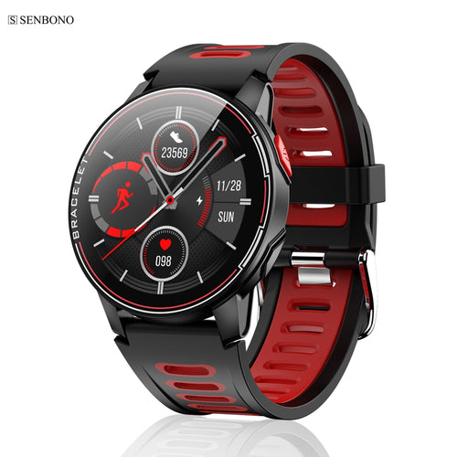 SENBONO S20  IP68 Waterproof Smart Watch Fitness Tracker Heart Rate Monitor Smart Clock Men Women New Smartwatch For Android IOS