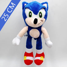 Load image into Gallery viewer, 25cm Sonic the hedgehog Plush Doll Blue Yellow Gray Red Black Sonic Dolls Toy Home Decoration Kid's Birthday Festival Gifts