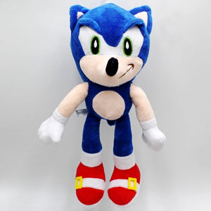 25cm Sonic the hedgehog Plush Doll Blue Yellow Gray Red Black Sonic Dolls Toy Home Decoration Kid's Birthday Festival Gifts