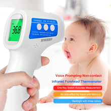 Load image into Gallery viewer, Cofoe  Forehead Thermometer Non Contact Infrared Thermometer Body Temperature Fever Digital Measure Tool for Baby Adult