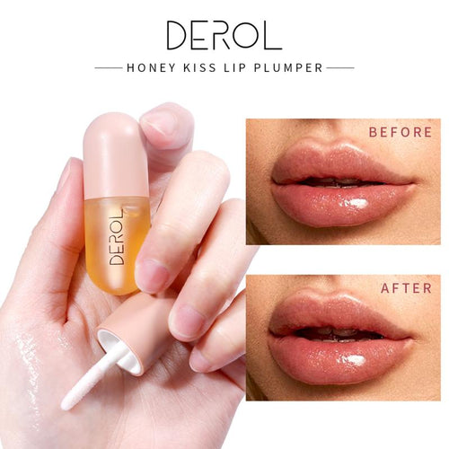 DEROL Instant Volumising Lip Enhancer Plumper Brighten Lip Color Reduce Lip Fine Lines Mask Moisturizing Lip Plumper Care TSLM1