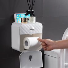 Load image into Gallery viewer, Waterproof Wall Mount Toilet Paper Holder