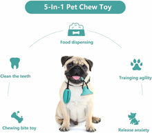 Load image into Gallery viewer, Multifunction dog Chew toys squeaking with Suction Cup Doggy Pull Ball for Dogs Cats Cleaning Tooth Food Dispenser pet supplies