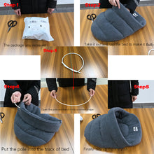 Load image into Gallery viewer, 6 Colors Soft Polar Fleece Dog Beds Winter Warm Pet Heated Mat