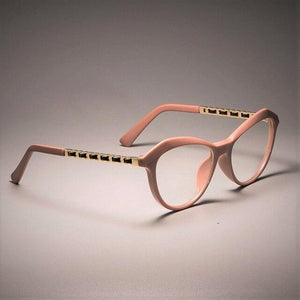 Sexy Cat Eye Ladies Khaki Square Glasses - Fresh Deals Shop