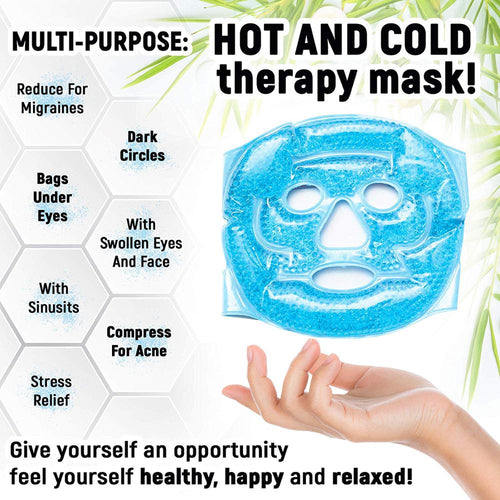 Hot & Cold Gel Full Face Mask - Fresh Deals Shop