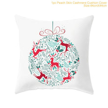 Load image into Gallery viewer, FENGRISE 45x45cm Cotton Linen Merry Christmas Cover Cushion