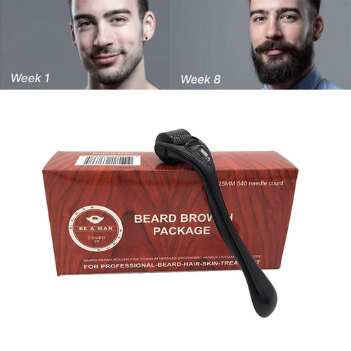 Beard Growth Facial Roller - Skin Care Micro Needle For Treatment