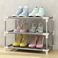 Load image into Gallery viewer, Multi Layers Shoe Rack Nonwoven Fabric Home Shoes Storage Organizer Easy to Install Shoe Cabinet Stand Holders Space Saver