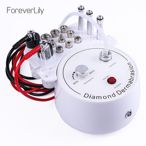 3 in1 Diamond Microdermabrasion Dermabrasion Machine Water Spray Exfoliation Beauty Machine Removal Wrinkle Facial Peeling Tools - Fresh Deals Shop