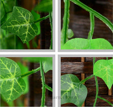 Load image into Gallery viewer, 7.87ft Artificial Ivy Leaf Garland Plants Fake Vine Foliage Flowers Garden Decor