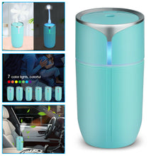 Load image into Gallery viewer, Portable USB LED Light Air Humidifier Diffuser Aroma Mist Purifier Car Home USA