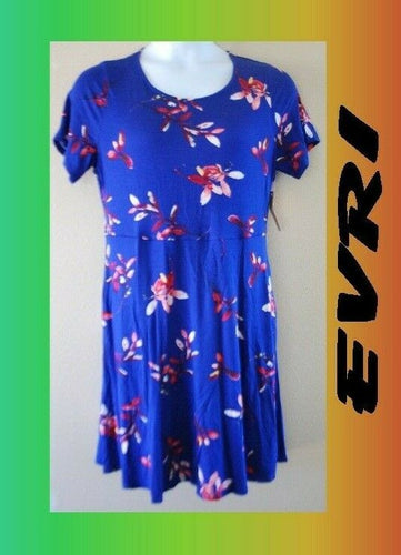 WOMEN'S PLUS SIZE 0X 14W EVRI SUMMER FUN DRESS CLOTHING NEW