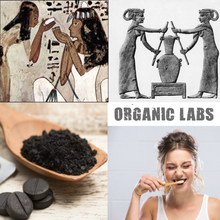 Load image into Gallery viewer, Activated Charcoal Powder Bamboo Toothpaste & Toothbrushes Teeth Whitening Kit