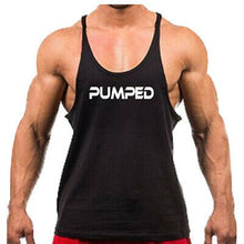 Load image into Gallery viewer, Gym Rabbit Men's Bodybuilding Singlets Stringer Printed Fitness Workout Clothing
