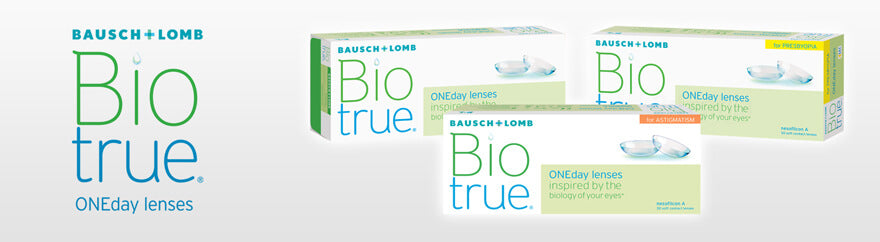 Biotrue contact lenses collection header