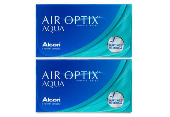 AIR OPTIX AQUA 2x6 lentile de contact