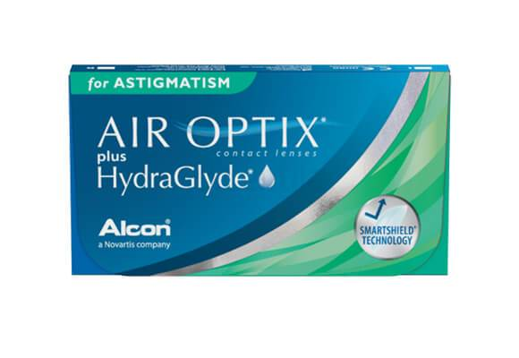 AIR OPTIX plus HydraGlyde for Astigmatism 3 lentile de contact