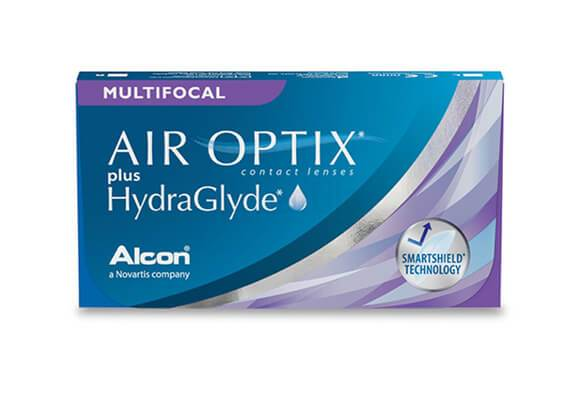 AIR OPTIX plus HydraGlyde Multifocal 6 lentile de contact
