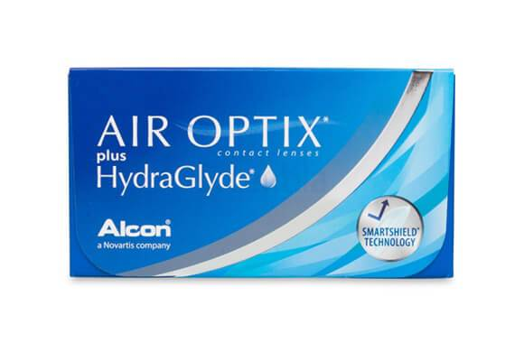 AIR OPTIX plus HydraGlyde 6 lentile de contact