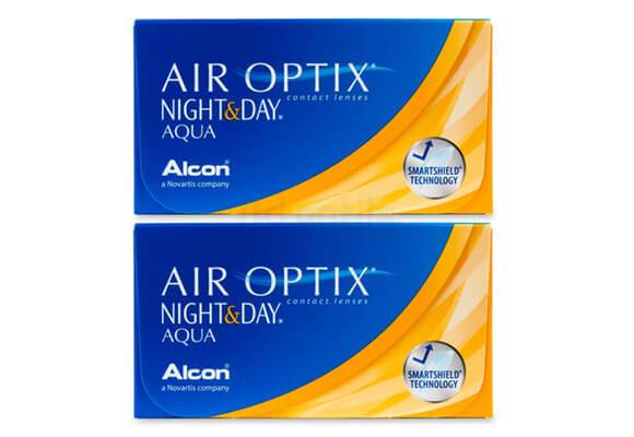 AIR OPTIX NIGHT & DAY AQUA 2x6 lentile de contact