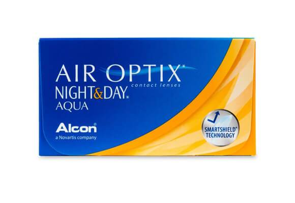 AIR OPTIX NIGHT & DAY AQUA 6 lentile de contact