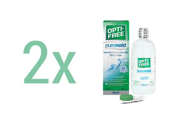 Opti-Free PureMoist 2x300 ml