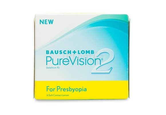 PureVision 2 Multi-Focal for Presbyopia 6 lentile de contact