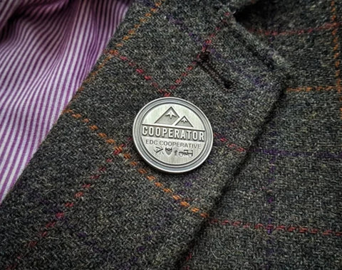 Cooperator Pin Badge